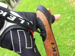 Gerissene Handschlaufe von Leki fürs Nordic Walking