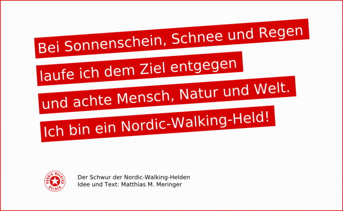 Der Schwur der Nordic-Walking-Helden