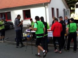 Nordic Walking beim Döbraberglauf 2014
