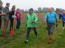 9. Nordic-Walking-Halbmarathon in Schauenstein am 13. September 2014