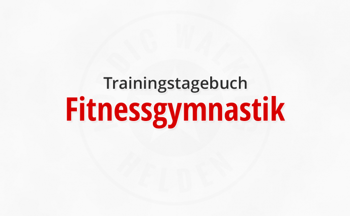 Trainingstagebuch: Fitnessgymnastik