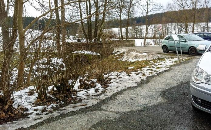 Nordic Walking in Hof am Pfaffenteich am 21.02.2015