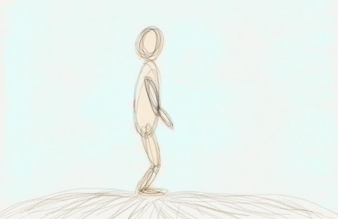 Verwurzelt stehen beim Tai-Chi