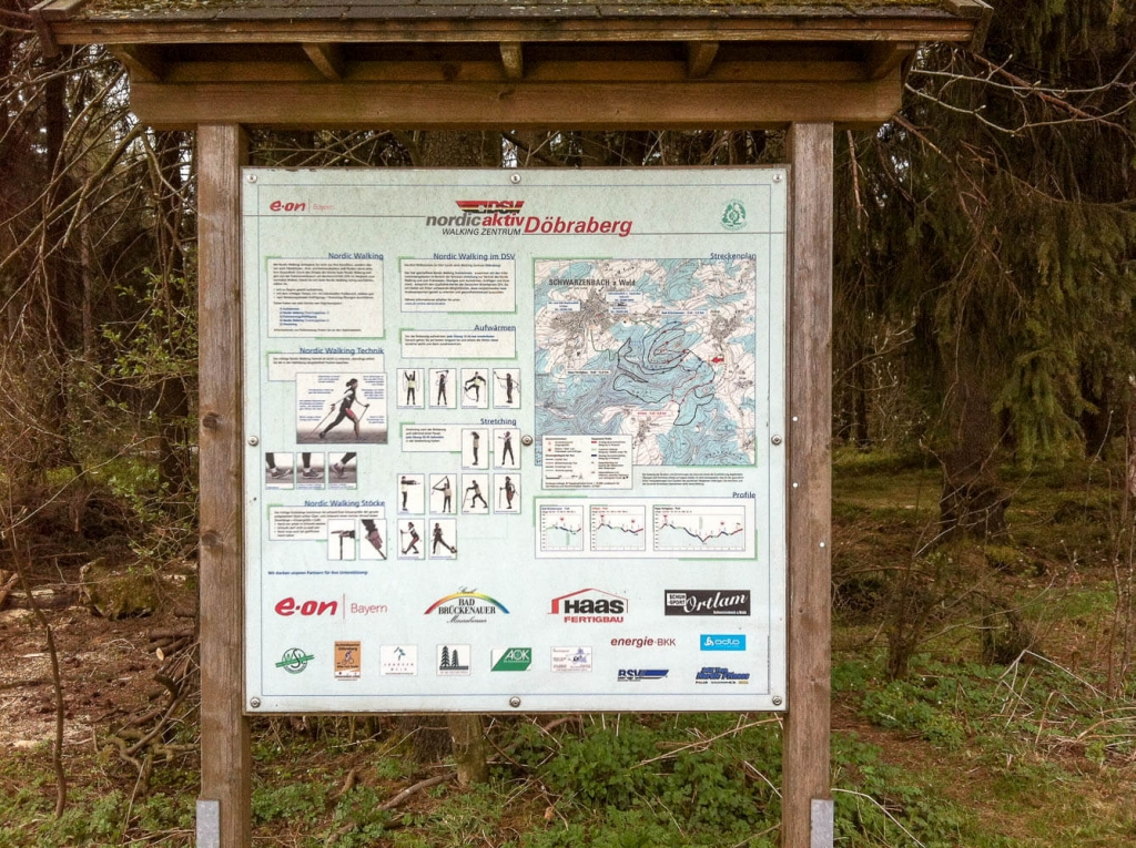Nordic-Walking-Halbmarathon Döebraberg 2015: